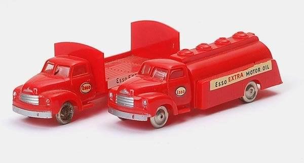 Plastic LEGO model cars