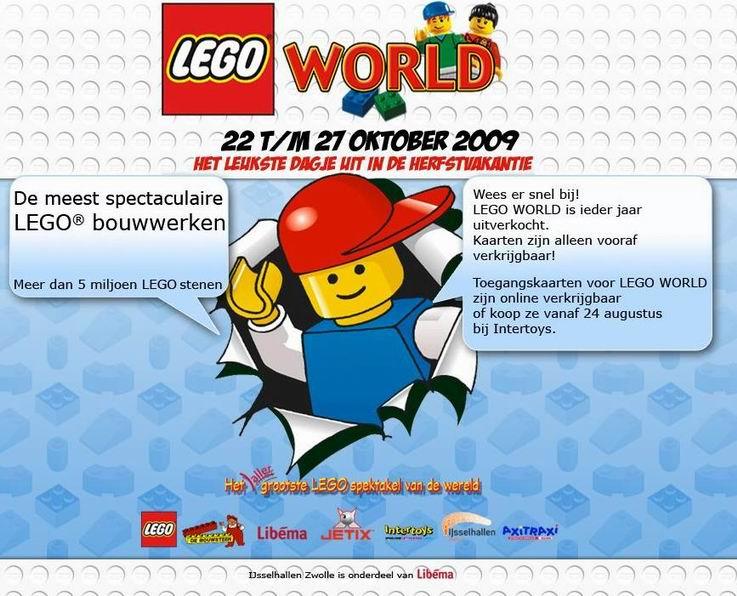 lego world 2009