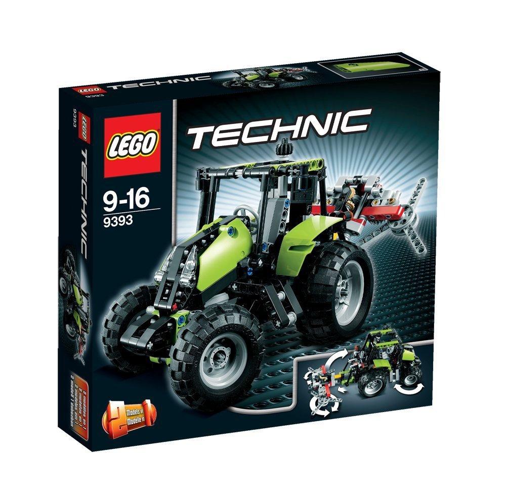 Lego Technic 9393 Tractor Lego Technic Mindstorms Model Team