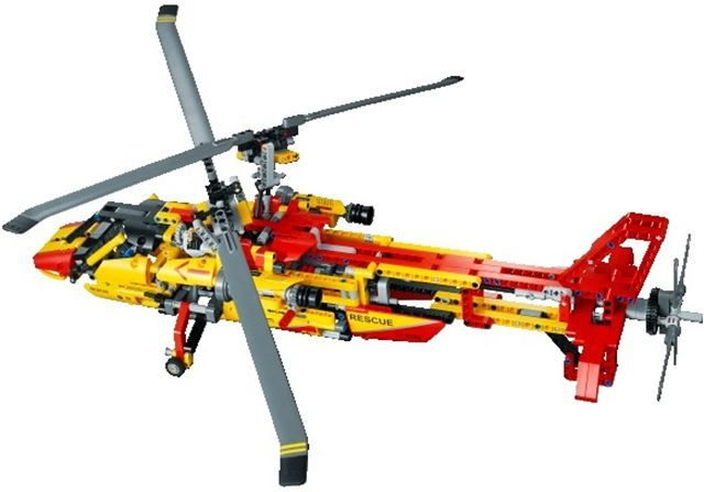 Lego Technic 9396 Helicopter Set Lego Technic And Model Team