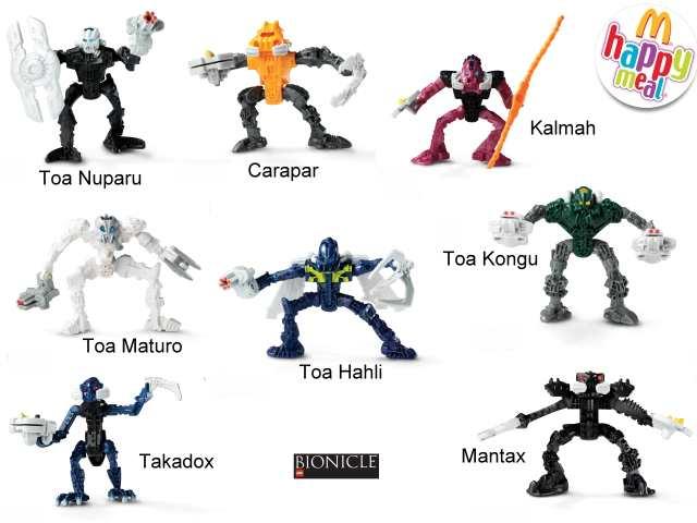 kleurplaten lego bionicle