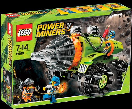 lego power miners claw digger instructions