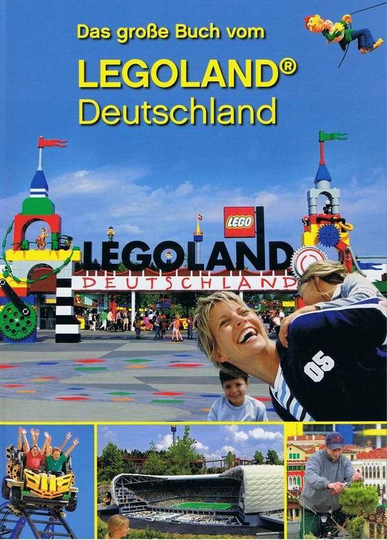 Boek met alle attracties van LEGOLAND Duitsland erin beschreven met ...