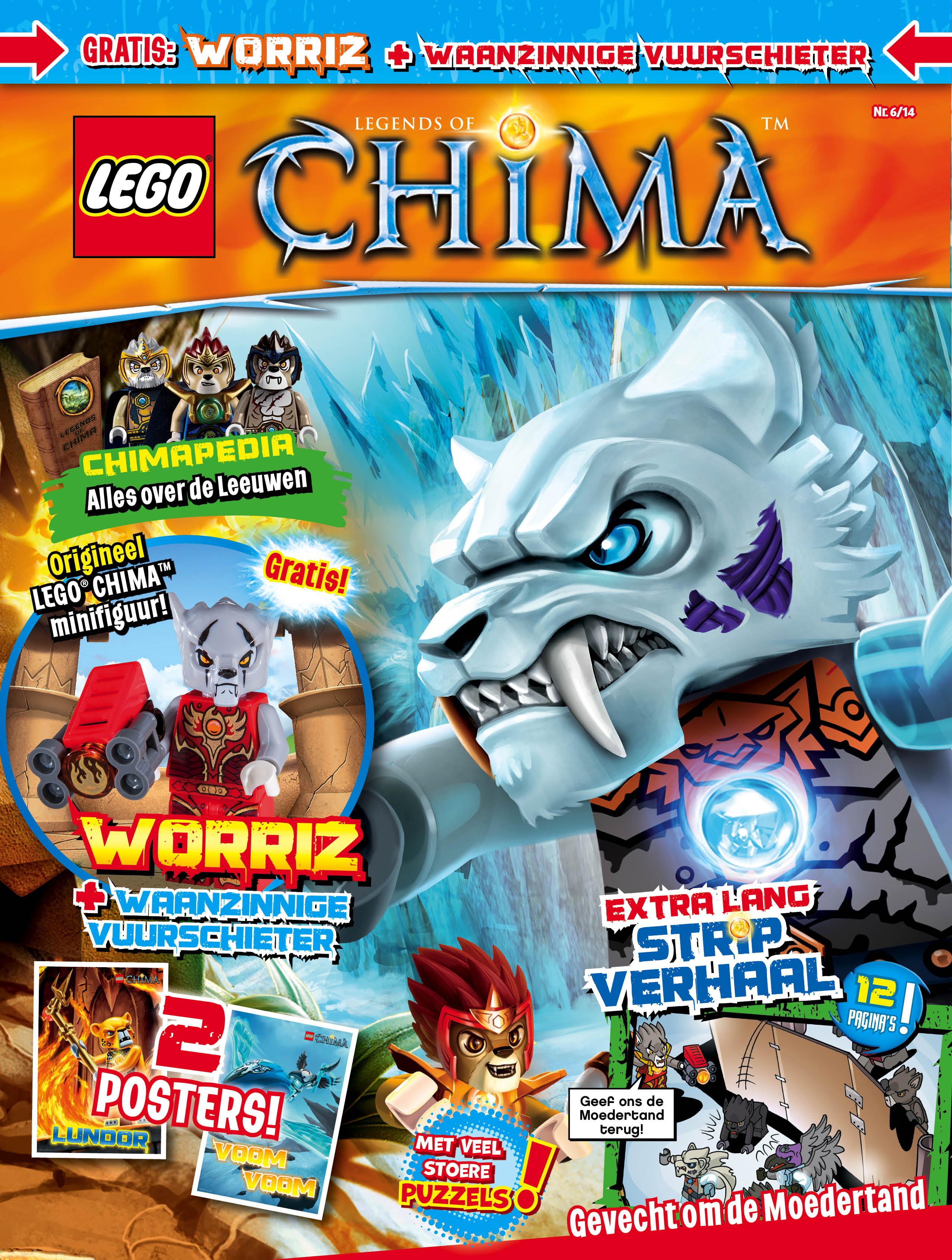 Lego Chima Vornon Lego Chima Magazine b o