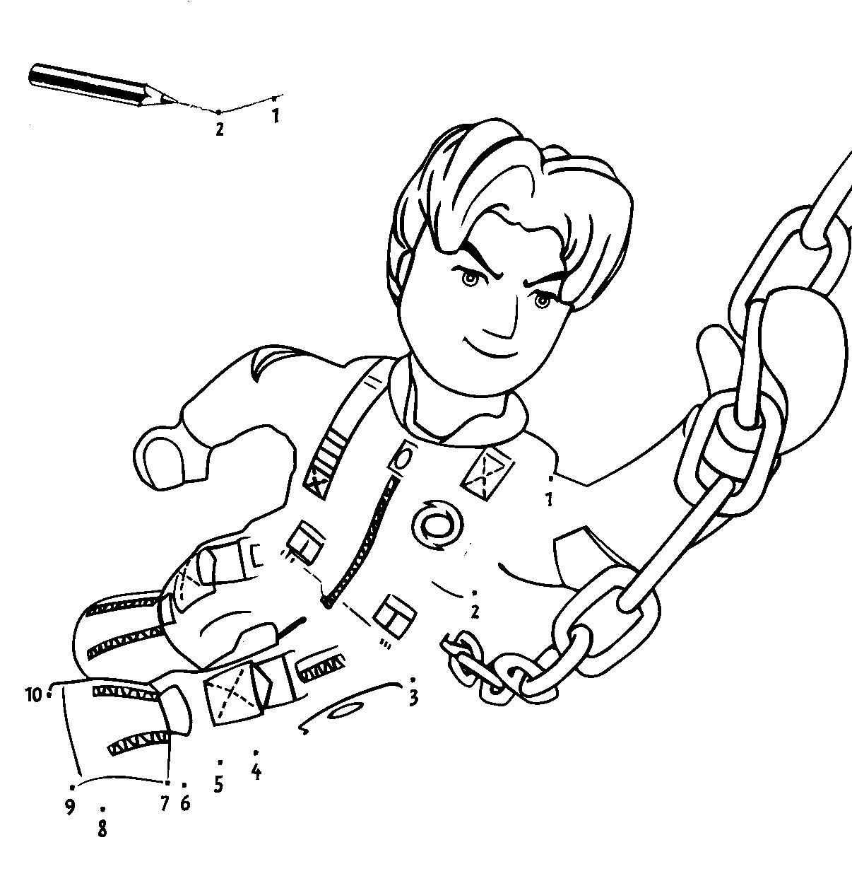 miner coloring pages - photo #26