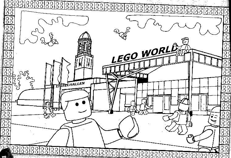 Kleurplaten Van Lego Technic.Kleurplaat Lego Belville Sprookjes