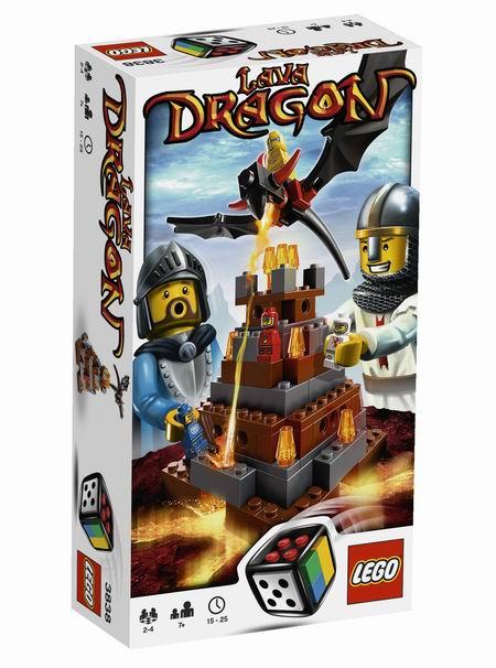 LEGO spellen: Lava Dragon