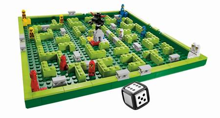 lego spel creationary